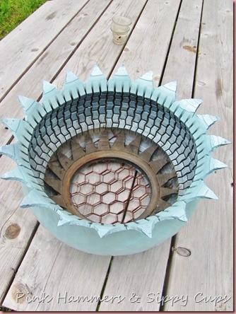 Tire as Planter via Simphome 11