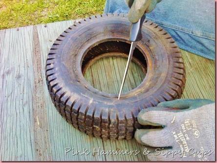Tire as Planter via Simphome 2