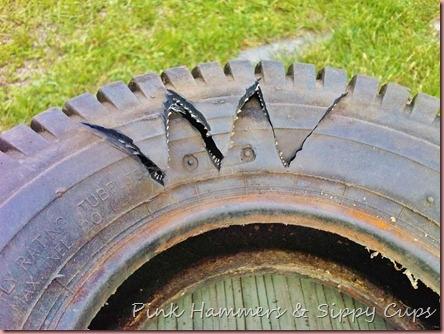 Tire as Planter via Simphome 3