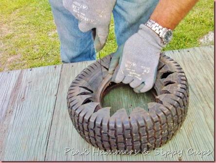 Tire as Planter via Simphome 4