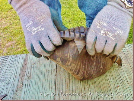 Tire as Planter via Simphome 8