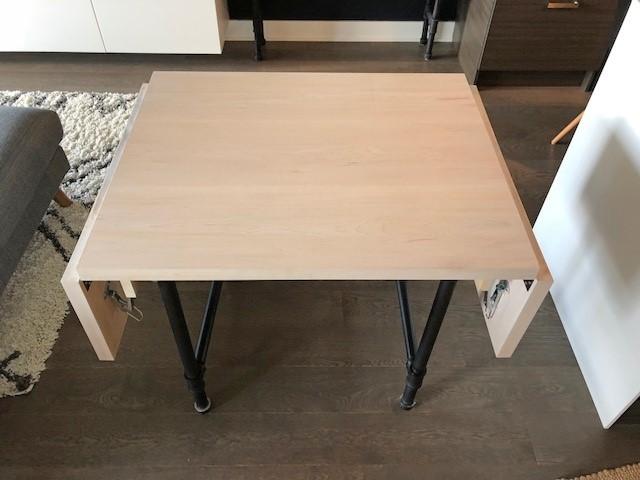 1. Drop Leaf Dining Table via Simphome