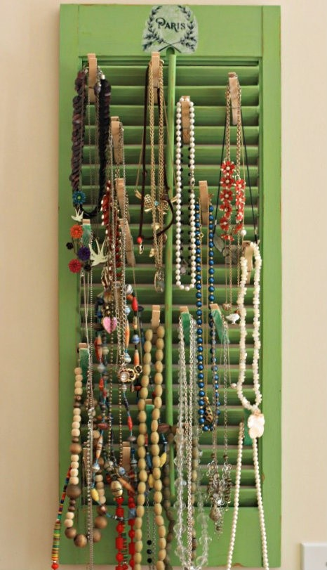 1. Jewelry Holder via Simphome