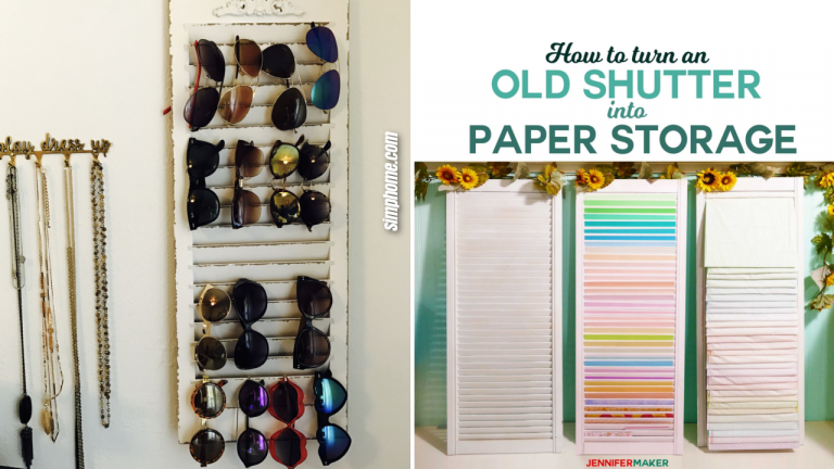 10 DIY Shutter Projects That Will Level Up Your Storage Solutions Game by Simphome.com Featured image