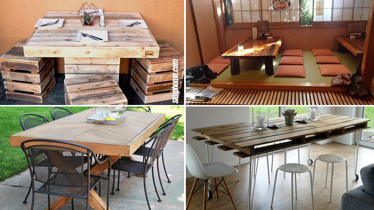 10 Dining Table Design Ideas You can Copy Easily via Simphome Featured image
