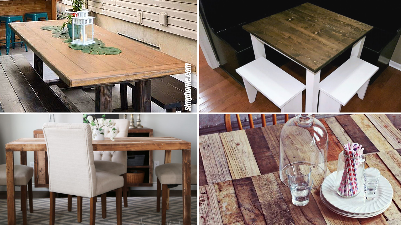 10 Small Dining Table by SIMPHOME.COM Ideas and DIY Featured image