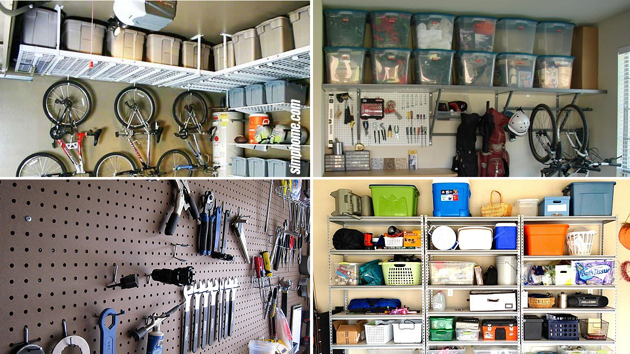 10 TRICKS By SIMPHOME.COM TO GET ORGANIZED GARAGE YOU DESIRE Featured image