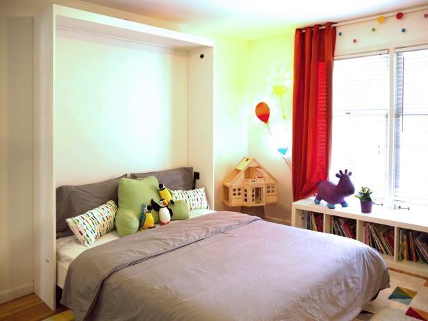 10. Simple Murphy Bed via Simphome