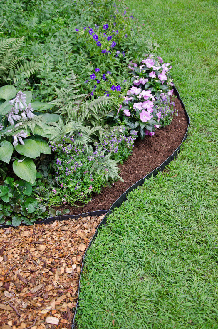 25 best lawn edging ideas and designs for 2018 pertaining to diy garden edging ideas Image Source homebnc.com
