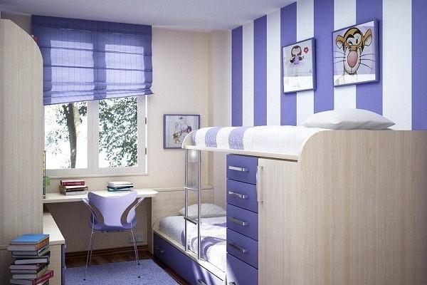 3. Painting Striped Walls via Simphome