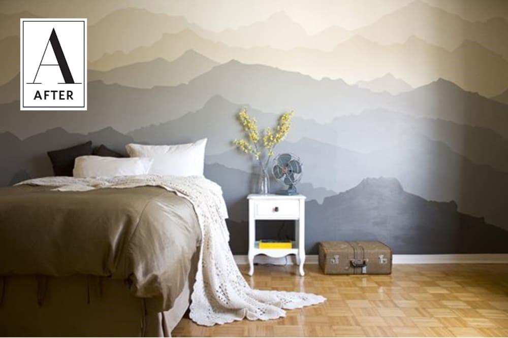 4. Add Mountain Mural via Simphome