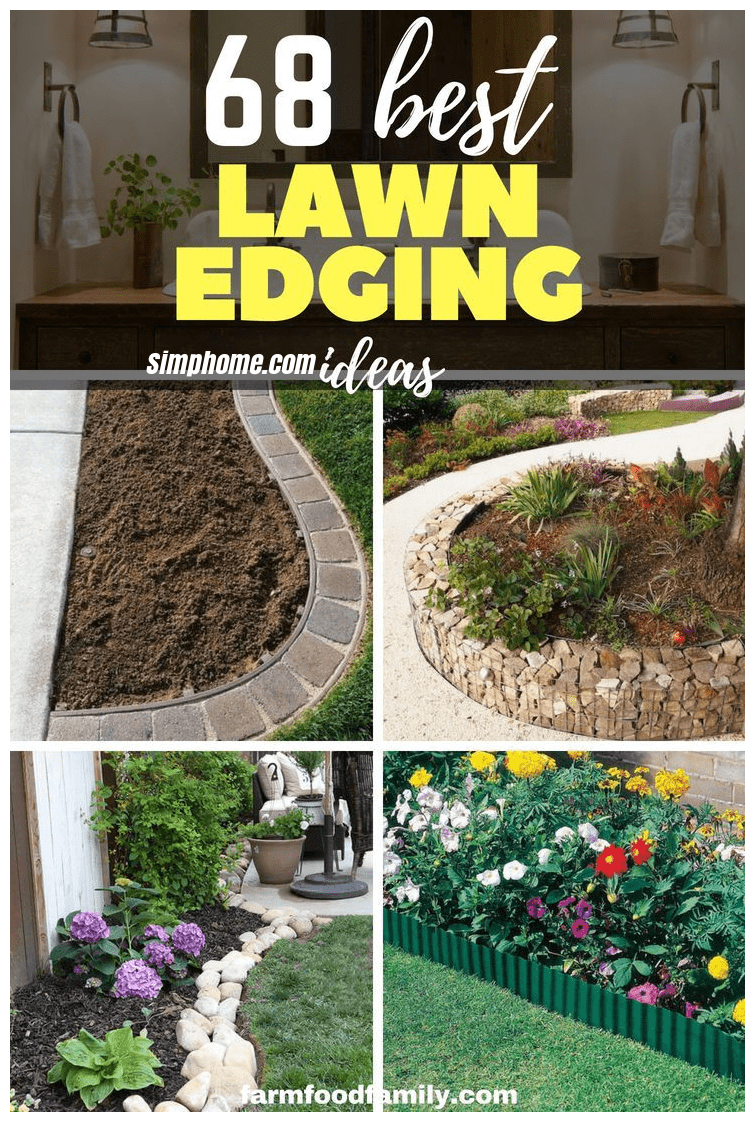 68 lawn edging ideas that will transform your garden diy garden within 10 diy garden edging ideas most of the amazing and gorgeous