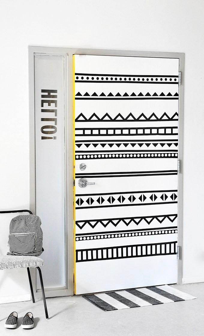 8. Washi Tape Idea via Simphome