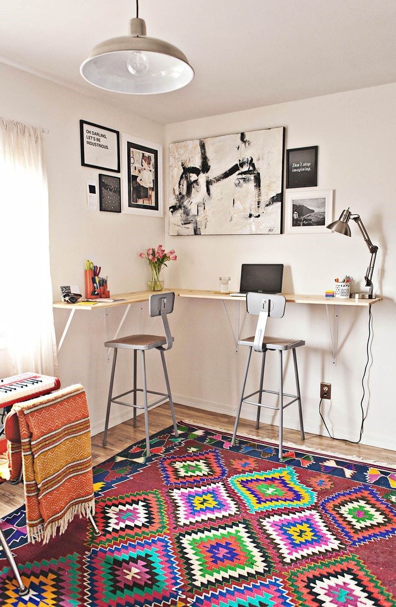 9. Standing Desk via Simphome