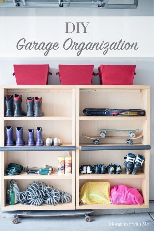 1. Shoe Rack Idea via Simphome.com