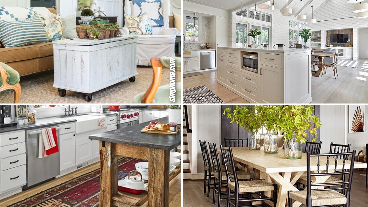 10 Awesome Farmhouse Decor Style Deserve Your Attention via Simphome.com
