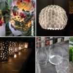 10 Cheap DIY Backyard Lighting Ideas via SIMPHOME.COM Featured Image