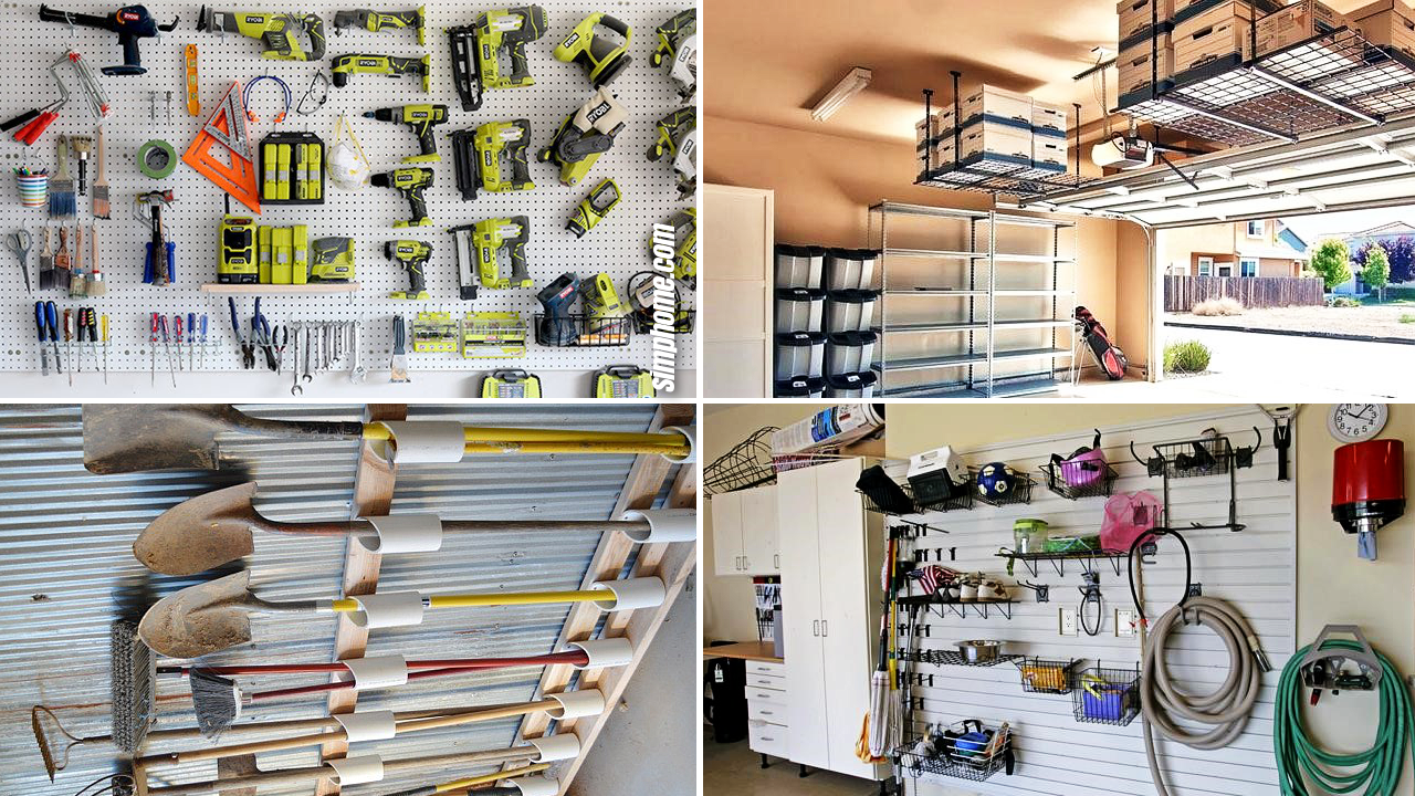 10 Diy Garage Organization And Storage Ideas Simphome