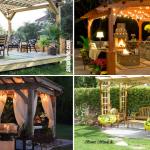 10 ideas Awesome ideas how to build Unique backyard Pergolas via Simphome.com Featured Image