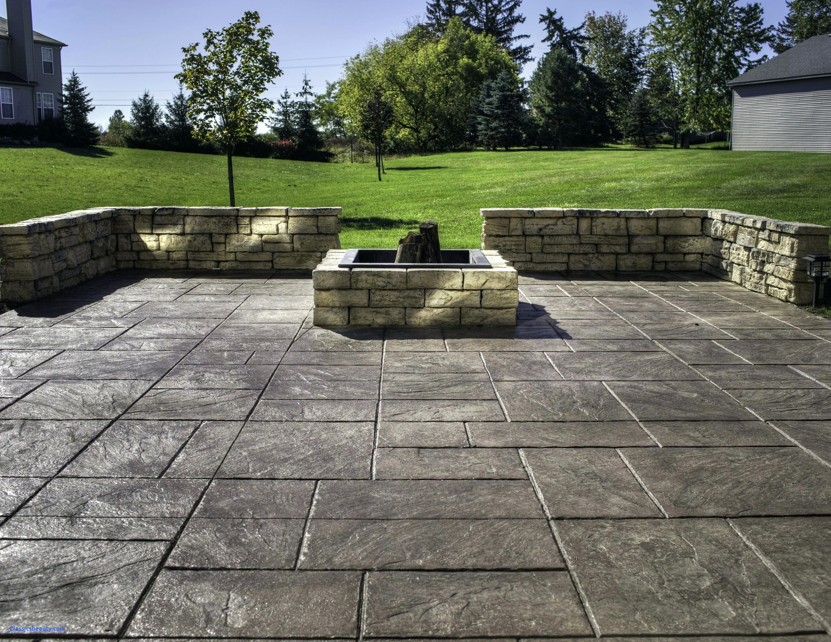 10. Big Ashlar Slate and stone firepit via Simphome.com
