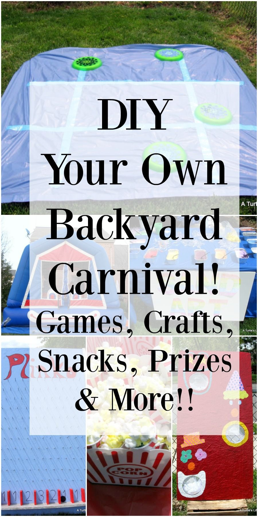 11.tons of really great within backyard carnival birthday party via Simphome.com