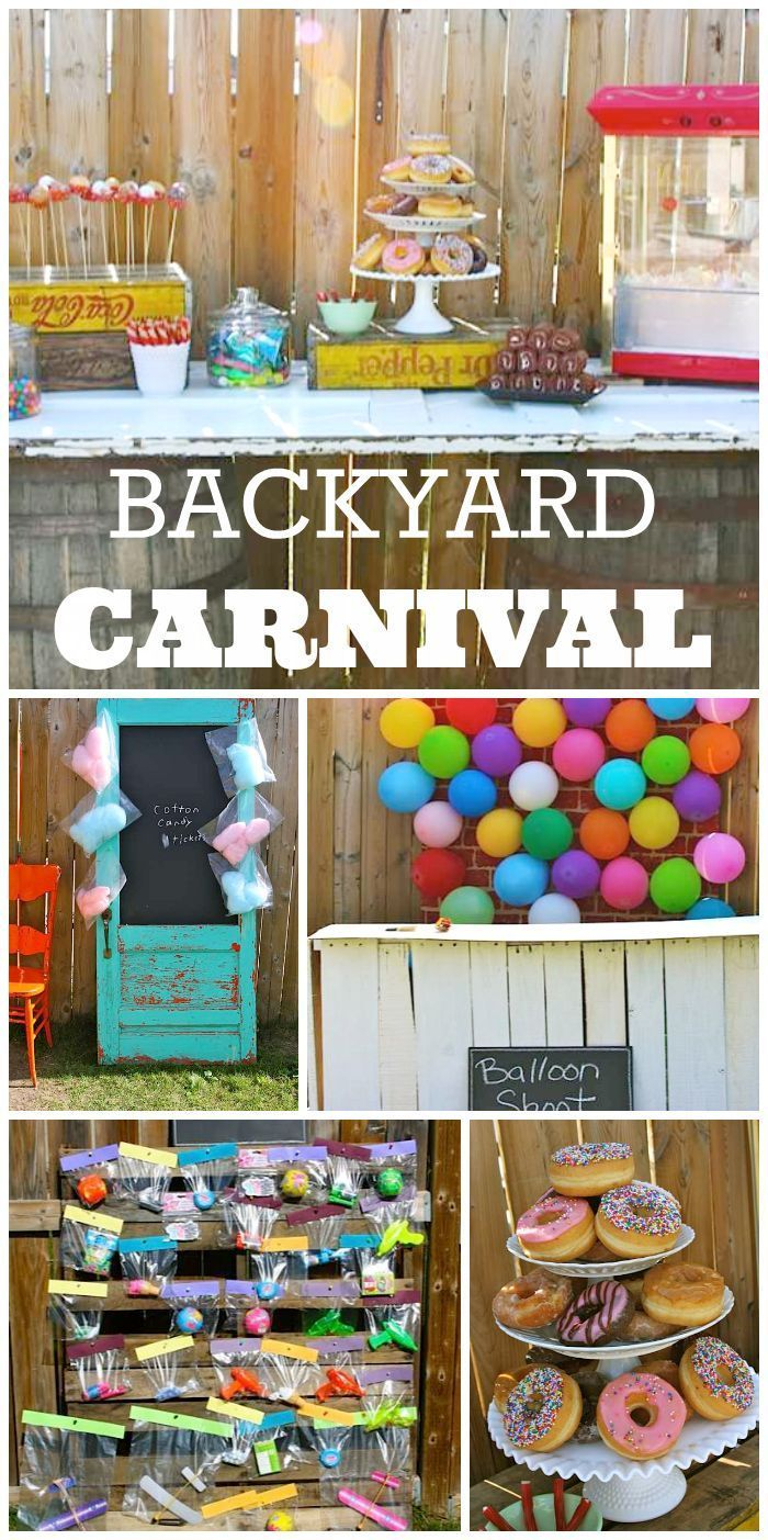 14.birthday ryders 8th birthday carnival kids birthday party ideas via SIMPHOME.COM