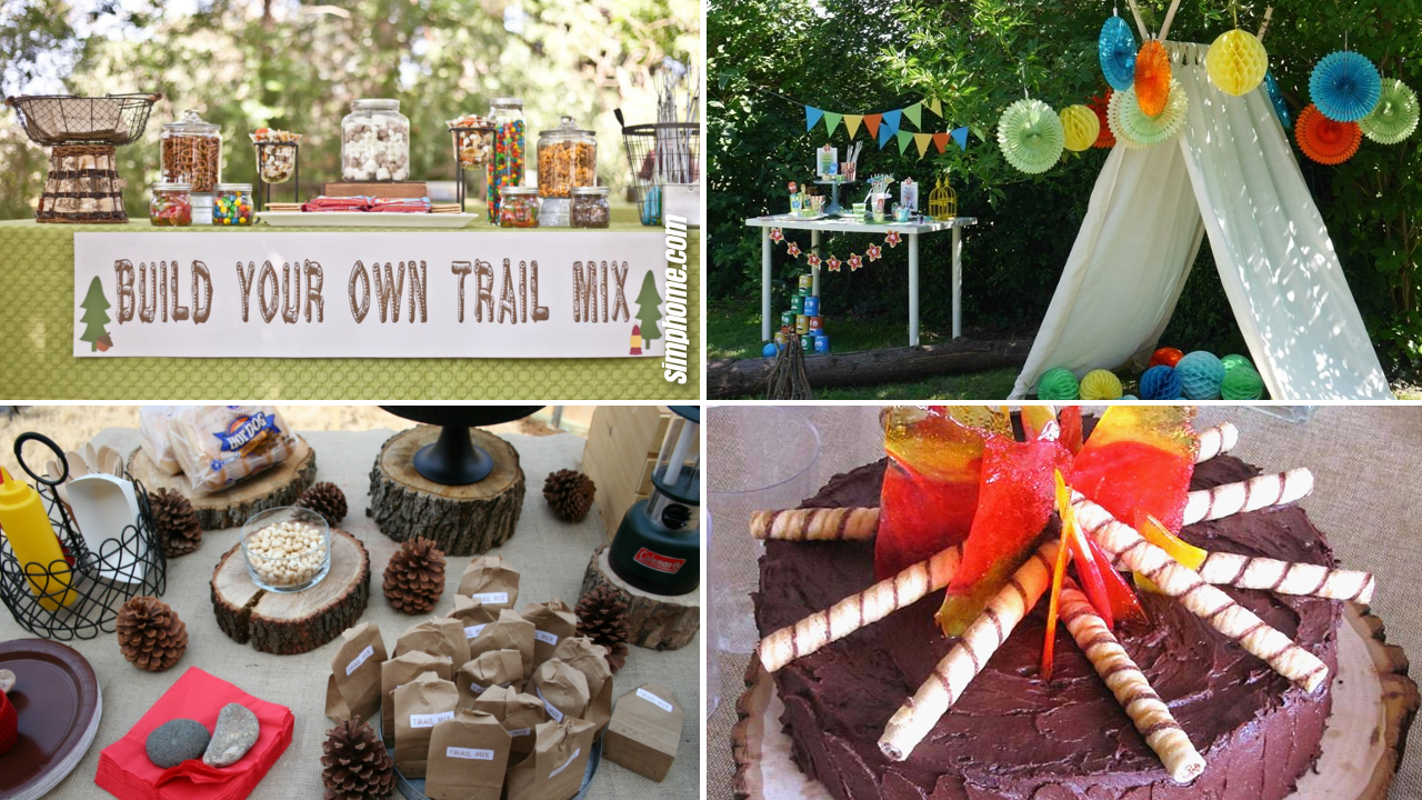 15 Some of the Coolest Ideas How to Makeover Backyard Camping Party Ideas via SIMPHOME.COM