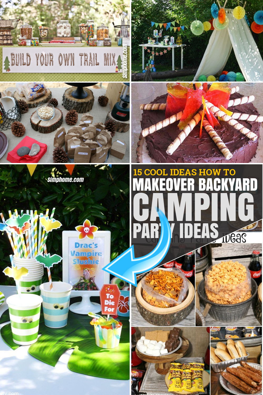15 Some of the Coolest Ideas by SIMPHOME.COM How to Makeover Backyard Camping Party Ideas