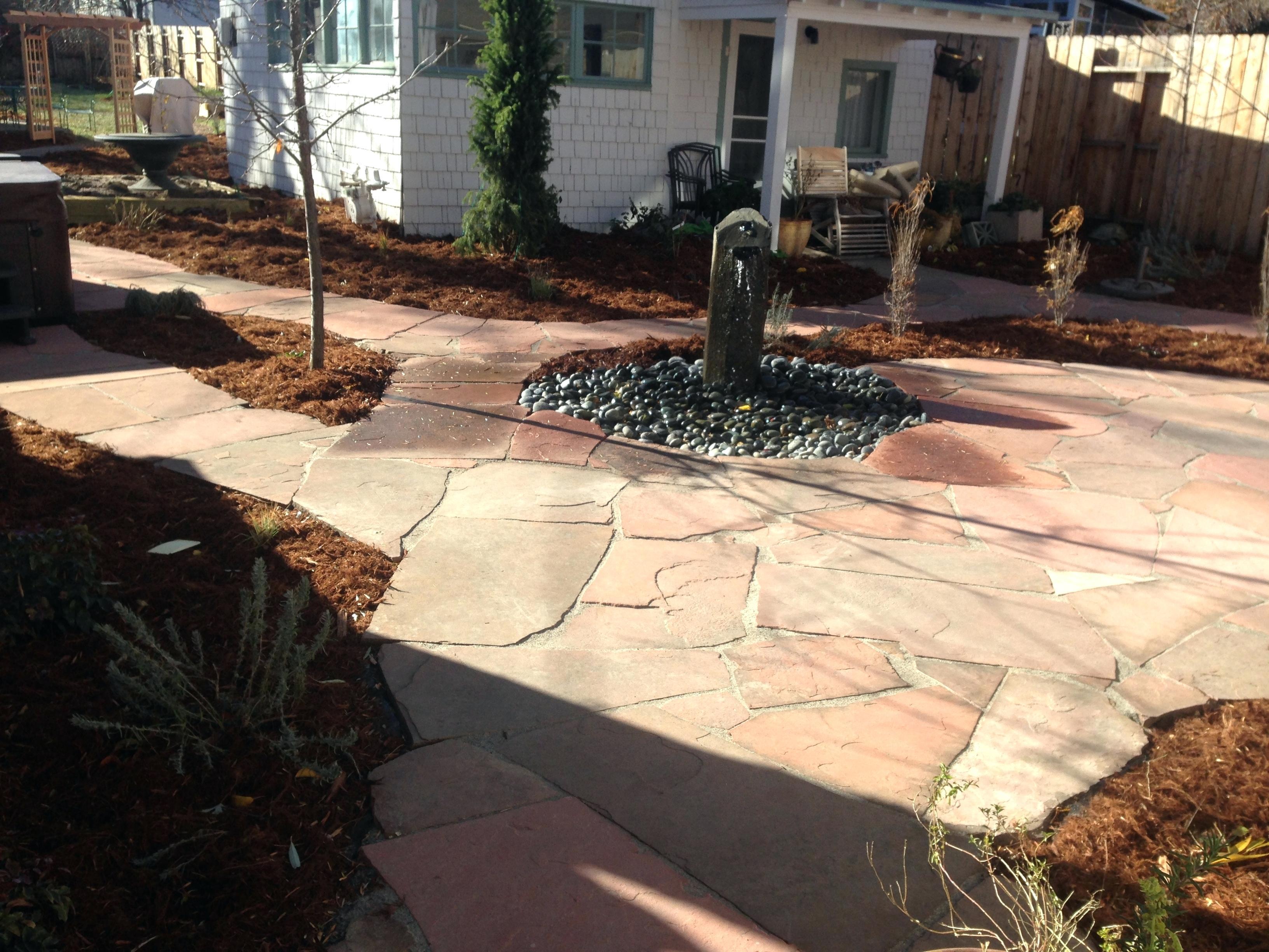 15.Simphome.com flagstone patio images backyard ideas