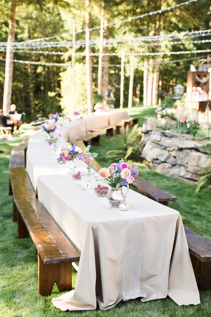 15.Simphome.com .diy backyard oregon wedding wedding ideas