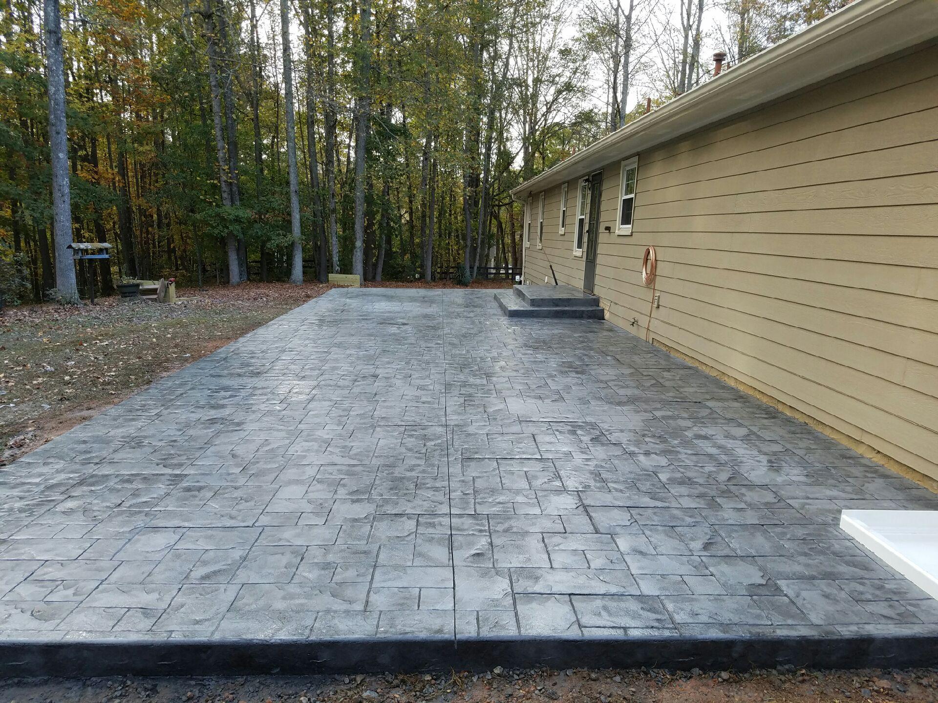 17.Simphome.com stamped concrete design ideas for your backyard custom