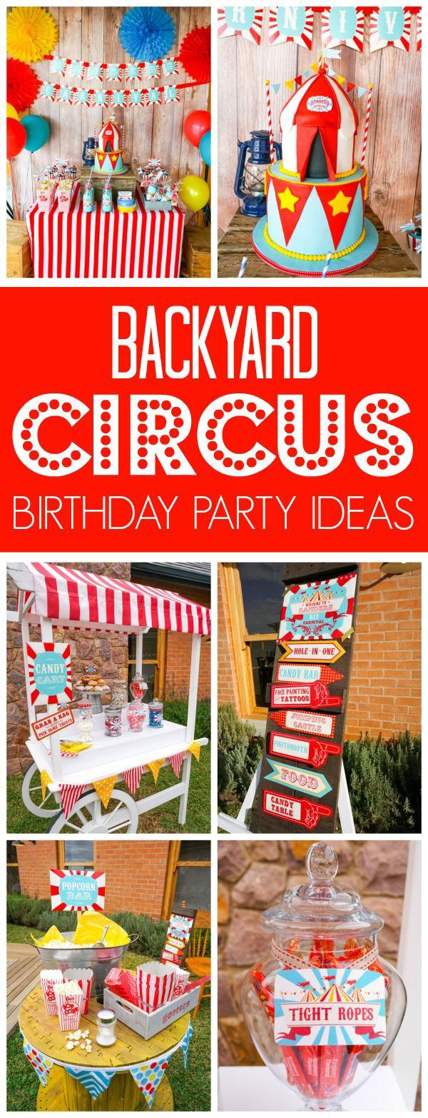 17.party time backyard carnival via SIMPHOME.COM