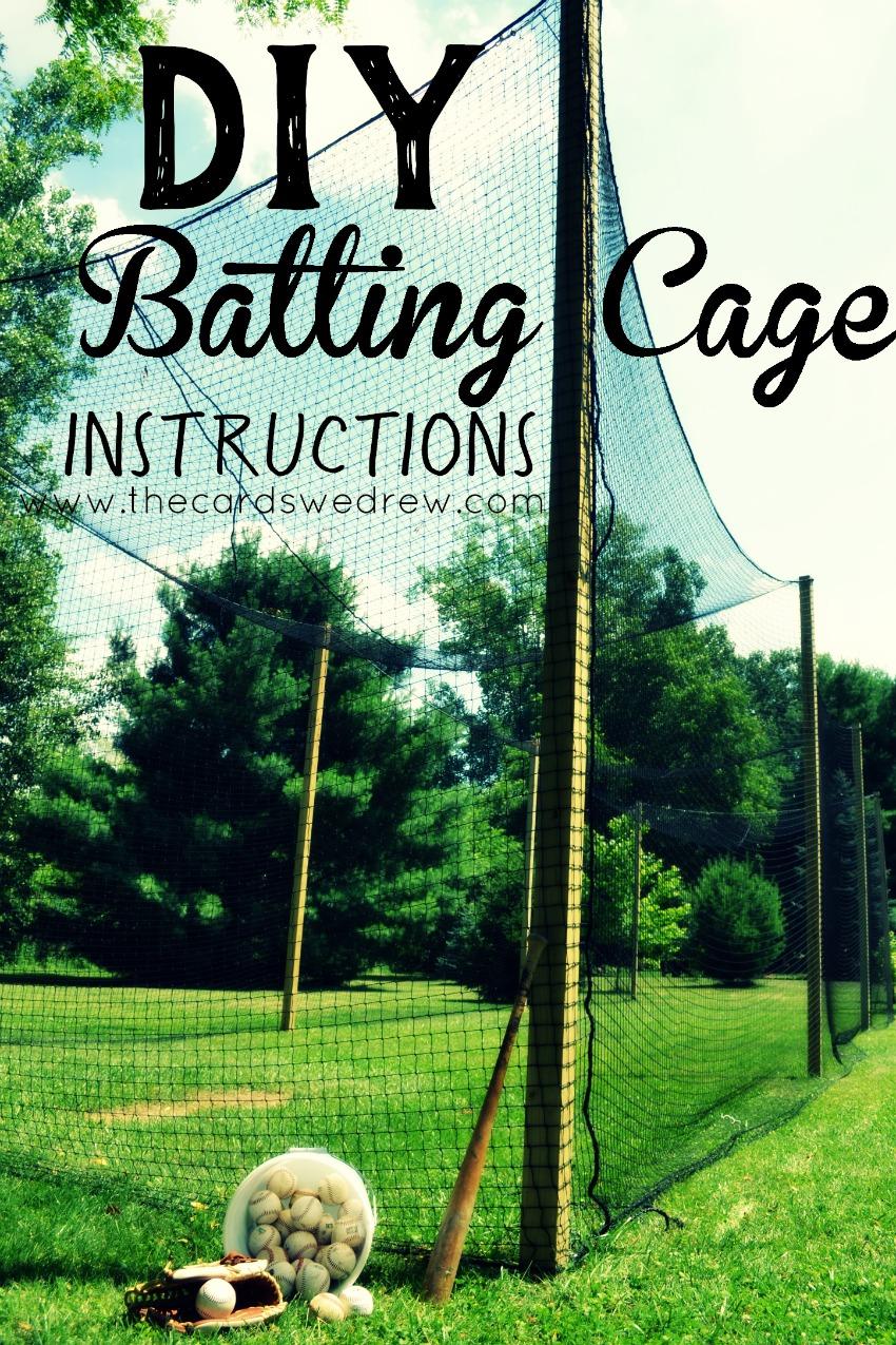 19.how to build a batting cage via SIMPHOME.COM