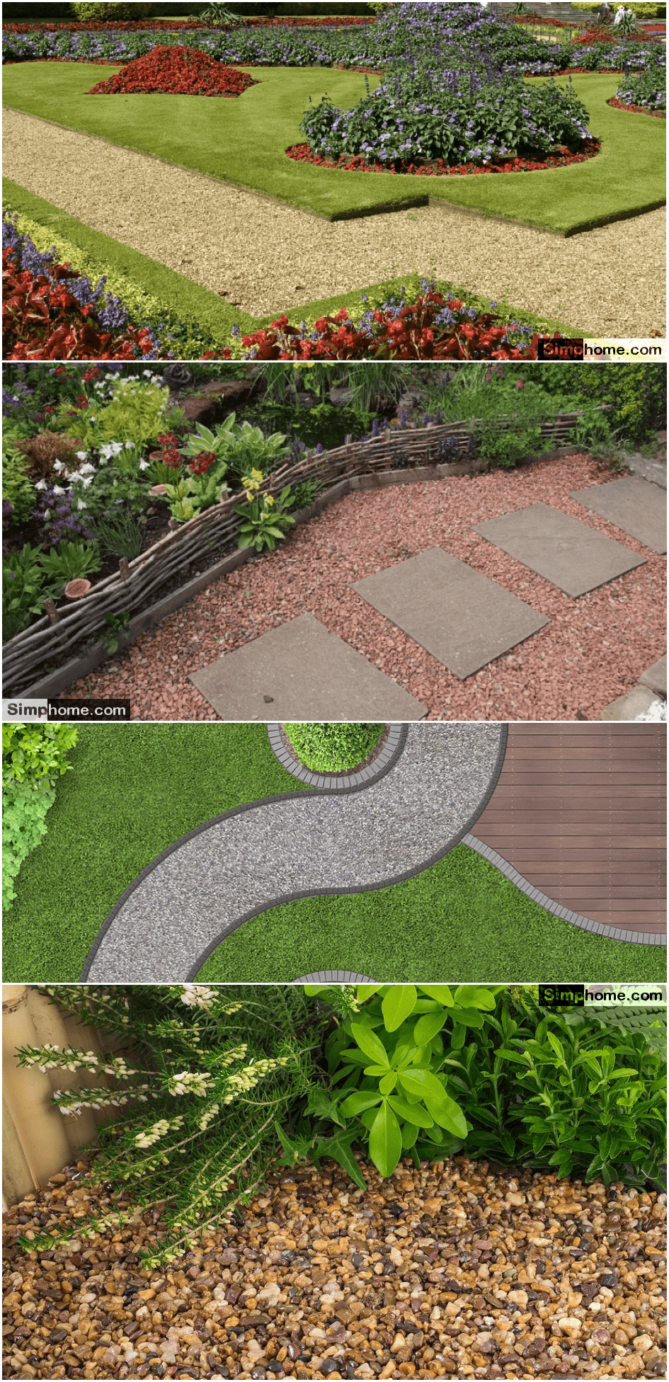 2.Backyard Pathway Ideas via Simphome.com