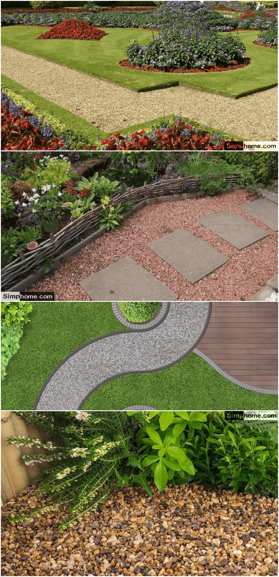 2.Backyard Pathway Ideas via Simphome.com