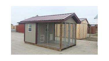2.House Dog Kennel for the Backyard via Simphome.com