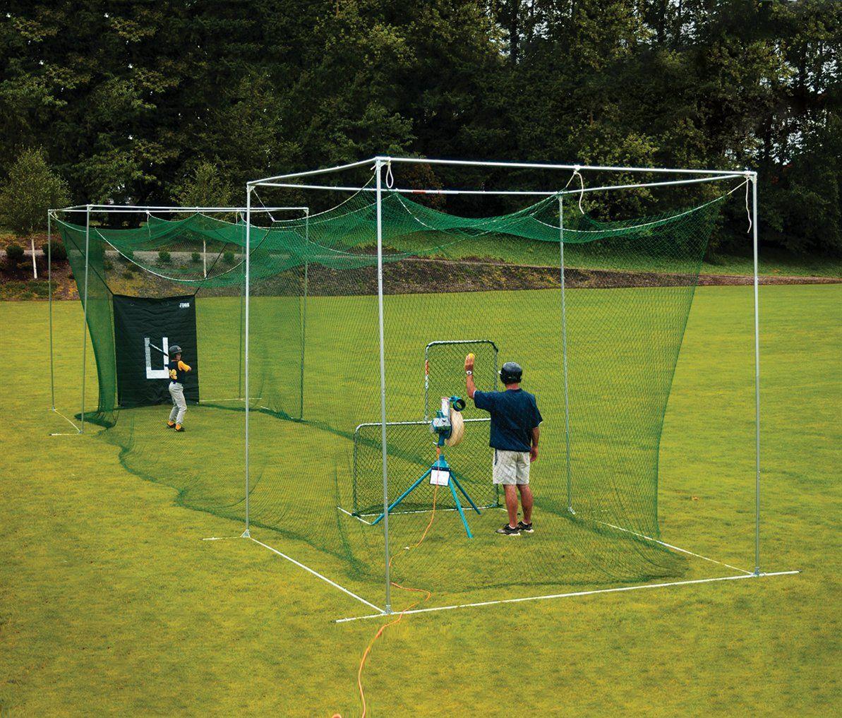 20.backyard batting cages ideas outside space backyard baseball via SIMPHOME.COM
