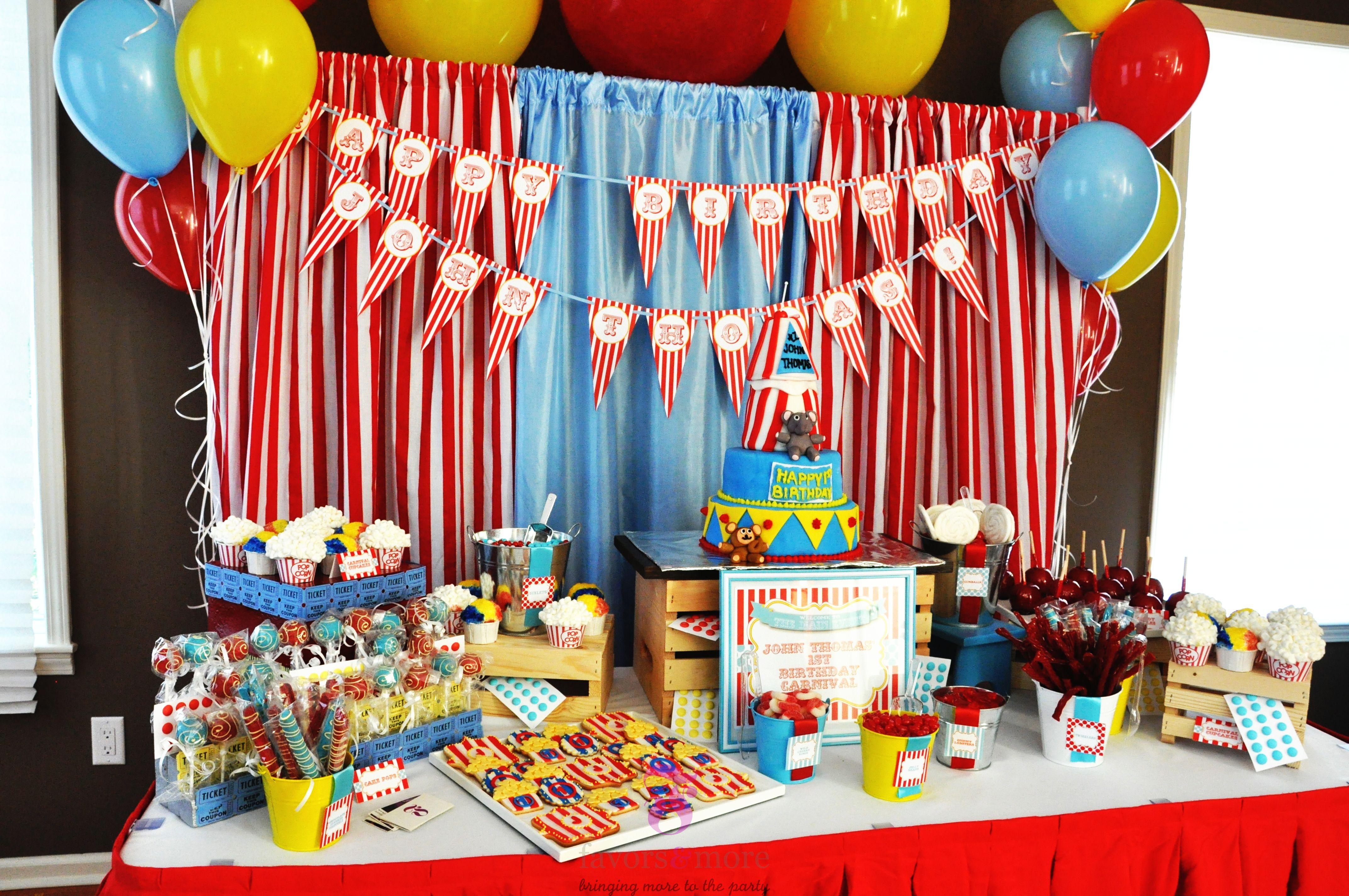 23.15 best carnival birthday party ideas via SIMPHOME.COM