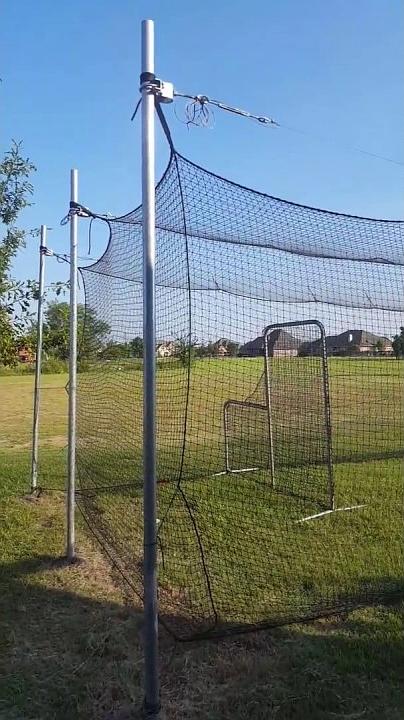 23.diy batting cage cheap 40 x 12 youtube via SIMPHOME.COM