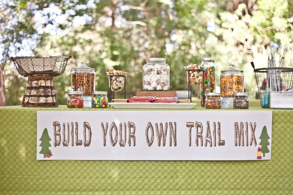 3 Build Your Own Trail Mix Bar via SIMPHOME.COM