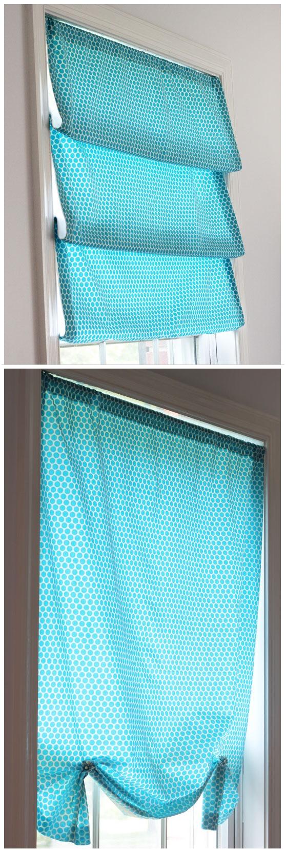 3. Make a DIY Window Shade for More Privacy via Simphome.com