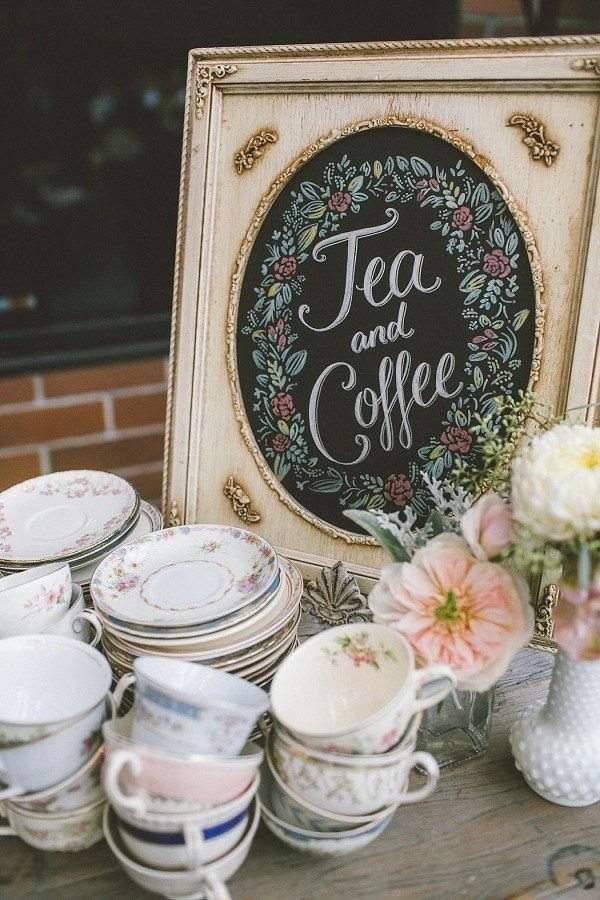 3.Elegant Tea Party Birthday idea via Simphome.com