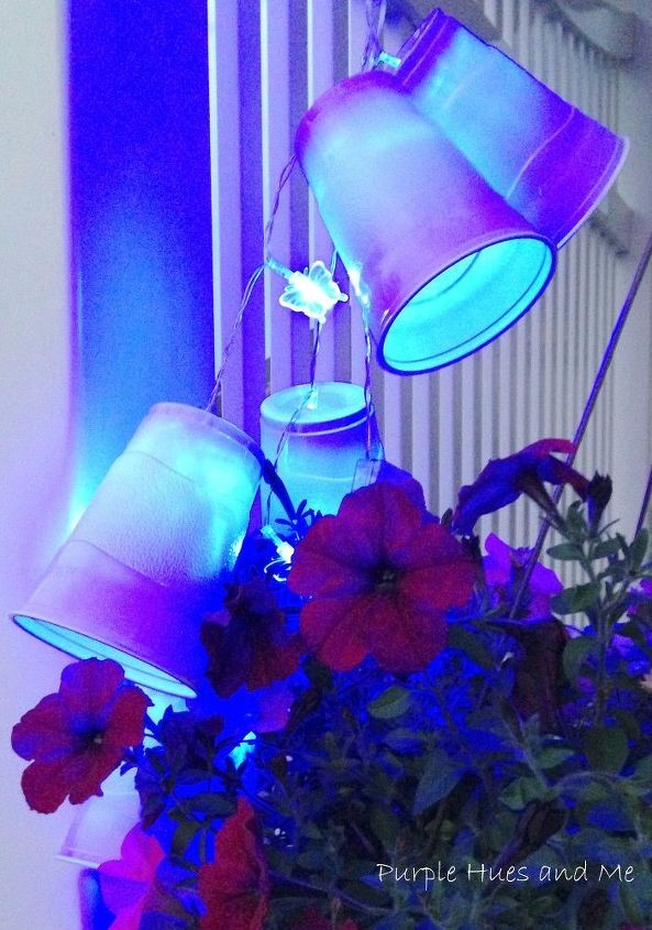 4. Party Cup LED Lights Garland via SIMPHOME.COM