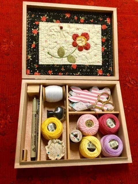 4. Sewing Box via Simphome.com