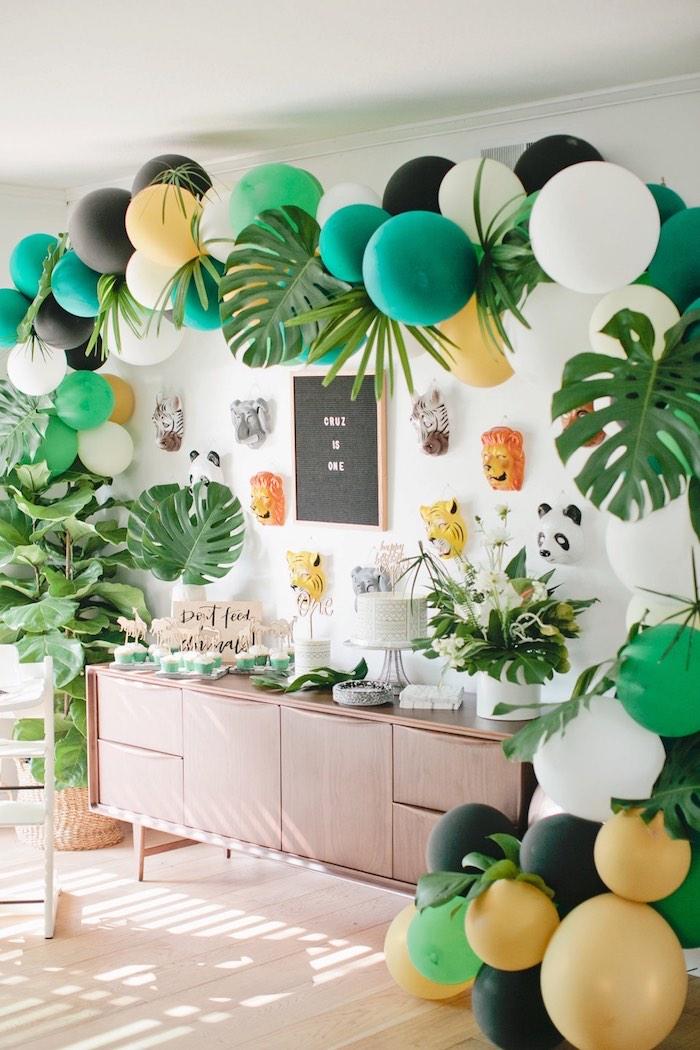4.Back to Nature DIY Birthday Party Idea via Simphome.com
