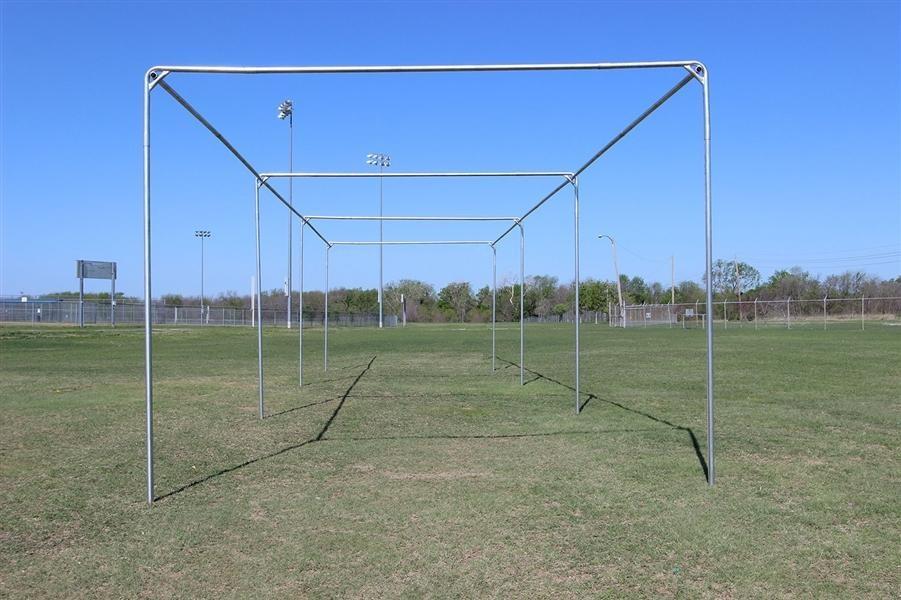 4.Cimarron 55' Standalone Batting Cage via SIMPHOME.COM