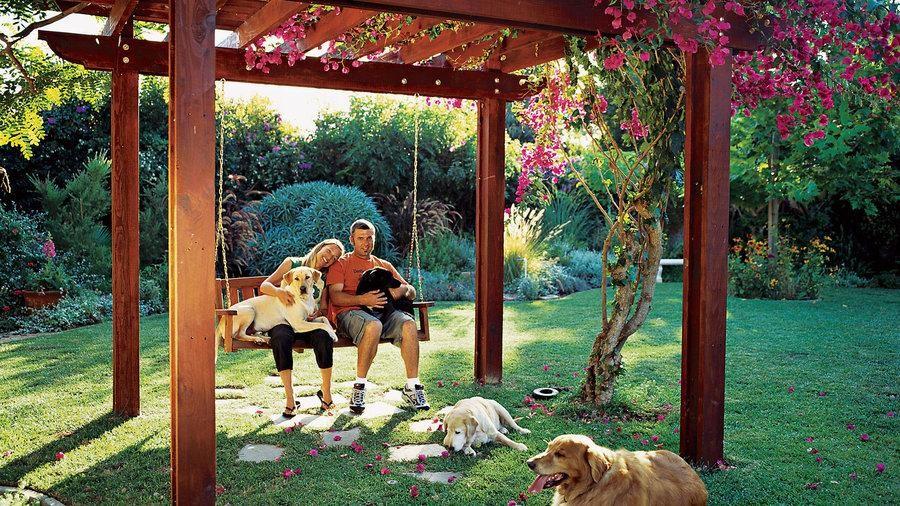 4.You can build the shady shelter via Simphome.com