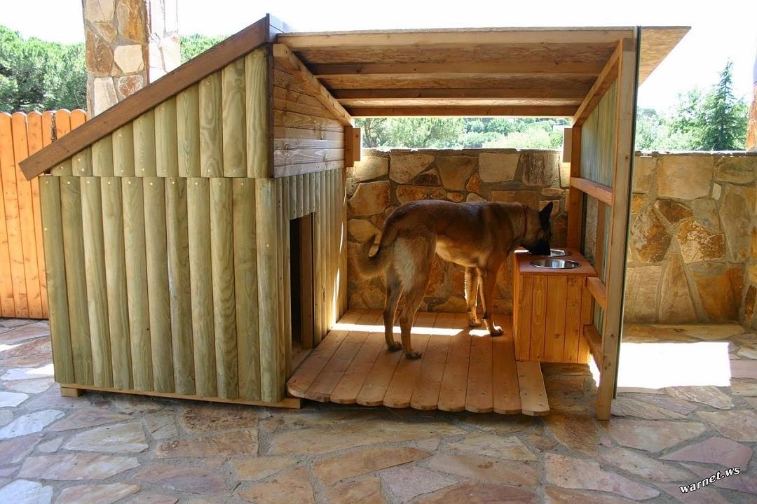 5. Wooden DOG Kernel via Simphome.com