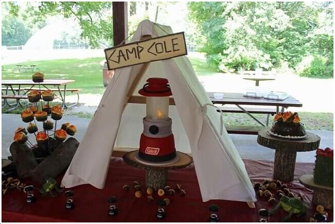 5.Coleman Lantern Cake via Simphome.com