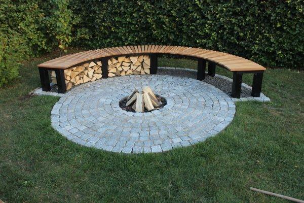 6. Install a Fire Pit via Simphome